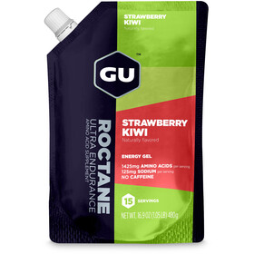 GU Energy Roctane Energy Gel Bulk Pack 480g, Strawberry Kiwi